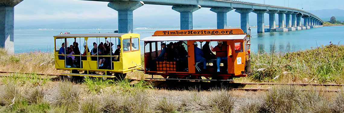 Ride the Rails on a Historic Crew Car Speeder